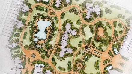 《惠州文岭西堤居住区植物景观规划设计》 作者:邱俞婷