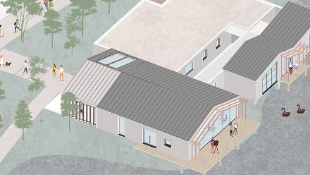 《山·村-园林茶艺设计》作者:17风景园林1班 陈芝涵、林泽铃